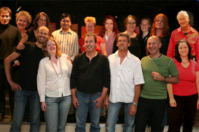 Board members and team 2007/2008
