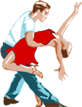 Tanzpaar. Bildquelle: OpenClipartVectors / pixabay.com